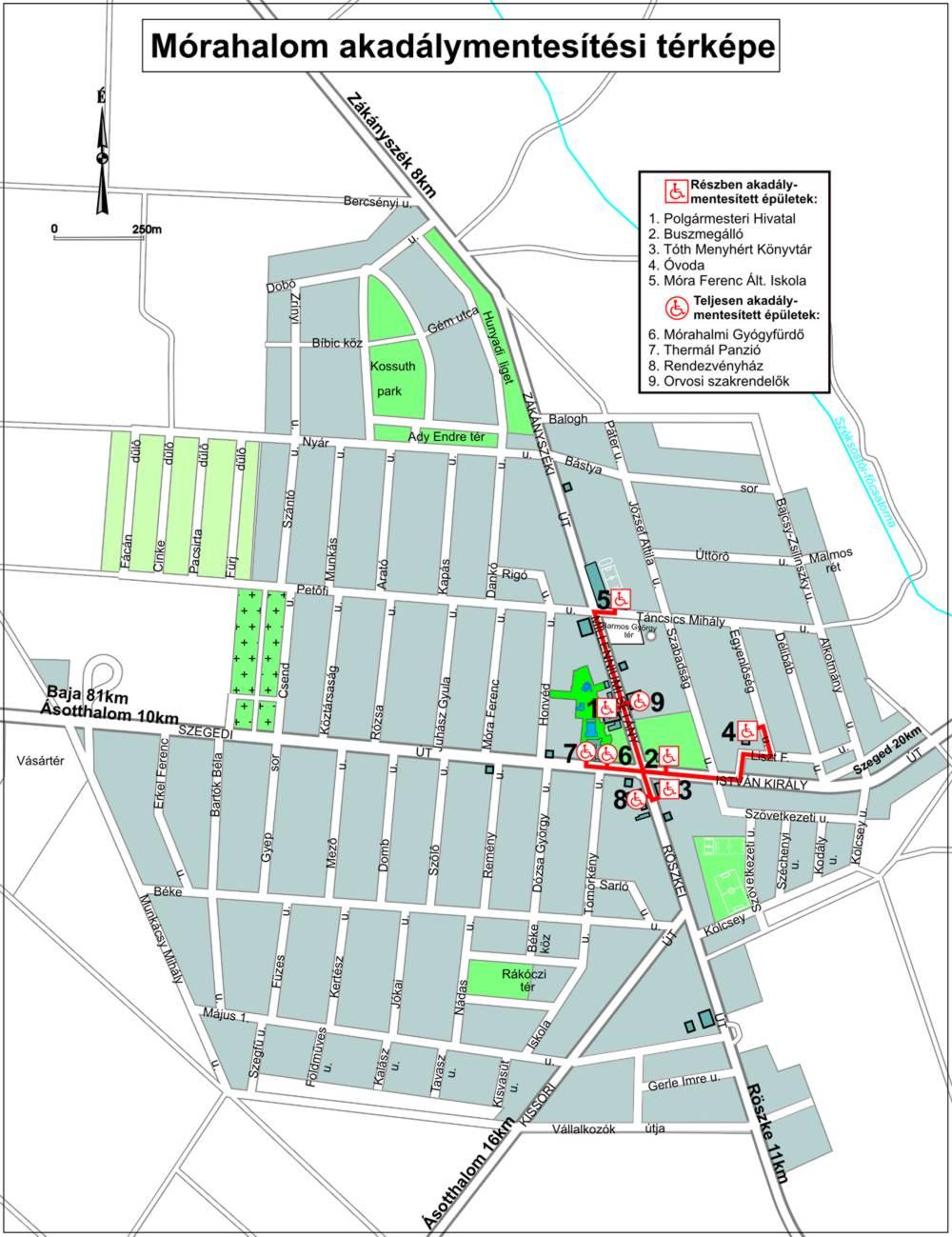 mórahalom térkép Mórahalom : Városunk mórahalom térkép